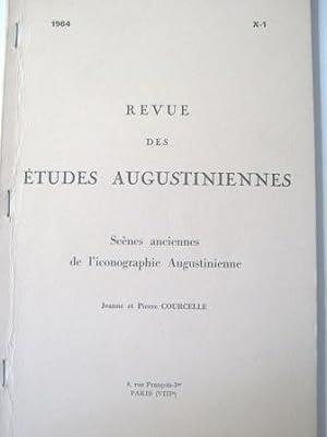 Scènes anciennes de l'Iconographie Augustinienne.: COURCELLE (Jeanne et