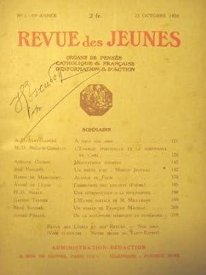Revue des Jeunes. Organe de pensée catholique: Cochin (Adeline) /