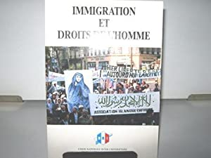 Immigration et Droits de l'Homme.: Durand (Yves) /