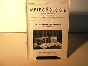 La Météorologie. Revue de météorologie et de: Météorologie / Collectif