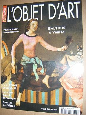 L'Estampille / L'Objet d'art. Revue mensuelle. N°362.: PATEL (Pierre) /