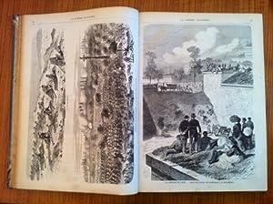 1870-1871 La Guerre illustrée et le Siège de Paris.: Guerre de 1870] [Anonyme]