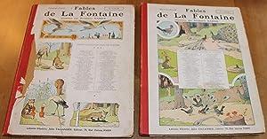 Fables de La Fontaine, illustrées par Benjamin: Benjamin RABIER, ill.,