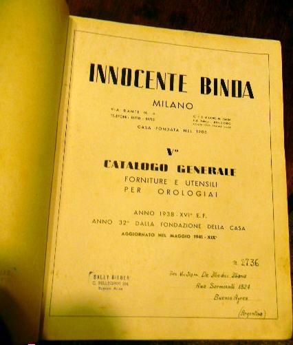 Innocente binda v catalogo generale di forniture e for Utensili per casa