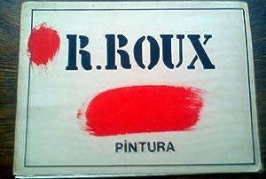 PINTURA. ,con una serigrafía original firmada, fechada: ROUX RICARDO.