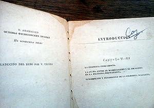 FUNDAMENTOS DE FILOSOFÍA.Traducción V. Uribes.: AFANASIEV, V.