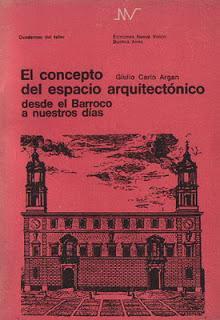 EL CONCEPTO DEL ESPACIO ARQUITECTÓNICO DESDE EL BARROCO A NUESTROS DÍAS.1 st ed.: ...
