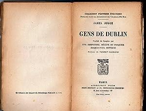 GENS DE DUBLIN. 1° ed.: JOYCE James
