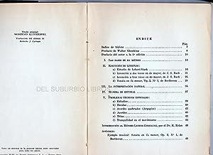 LA MODERNA EJECUCION PIANISTICA SEGUN LEIMER - GIESEKING. Con un prefacio de Walter Gieseking y una...