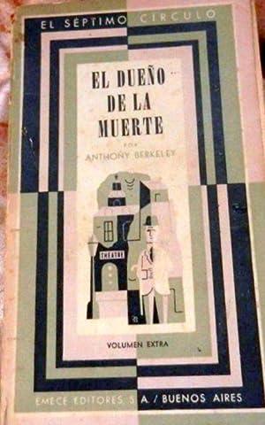 El Dueño De La Muerte.1° ed.: Berkeley Anthony