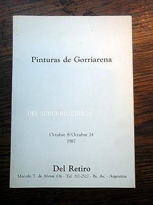PINTURAS DE GORRIARENA.: GORRIARENA CARLOS.
