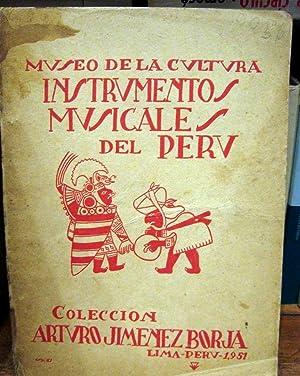 INSTRUMENTOS MUSICALES DEL PERÚ: Arturo Jimenez Borja