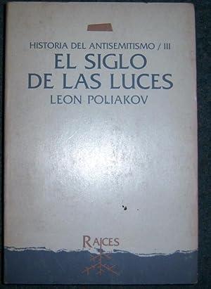 El siglo de las luces: Poliakov