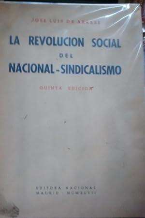 La Revolución Social del Nacional-Sindicalismo: Arrese, José Luis
