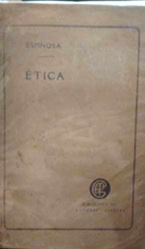 Etica.versiòn Castellana de Manuel Machado: Espinosa