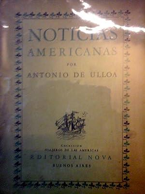 Noticias Americanas: ULLOA, Antonio de