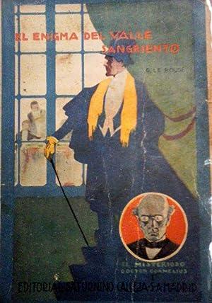 El Misterioso Doctor Cornelius. El enigma del Valle Sangriento: Le Rouge,Gustave