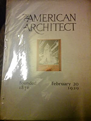 The American Architect