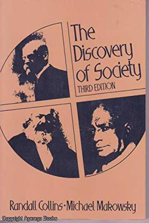 The Discovery of Society: Third Edition: Makowsky, Collins Randall