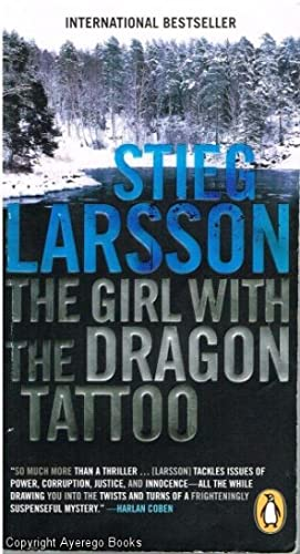 The Girl With The Dragon Tattoo: Larsson, Stig