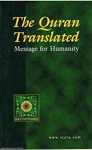 The Quran Translated: Pickthall, M. Marmaduke