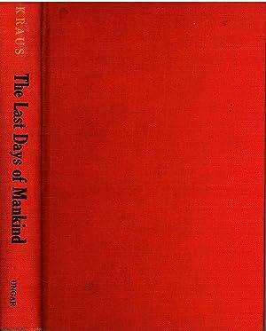 The Last Days of Mankind: Kraus, Karl