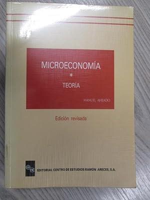MICROECONOMÍA. TEORIA.: MANUEL AHIJADO