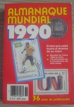 ALMANAQUE MUNDIAL 1990: VV. AA