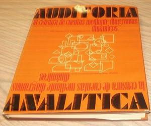 AUDITORIA ANALITICA. La censura de cuentas mediante diagramas dinámicos.: R M SKINNER, F.C.A. Y R.J...