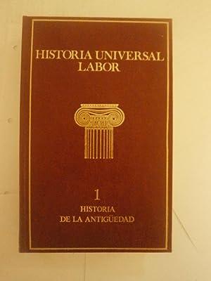 HISTORIA UNIVERSAL LABOR: TEXTOS Y DOCUMENTOS DE: VARIOS AUTORTES