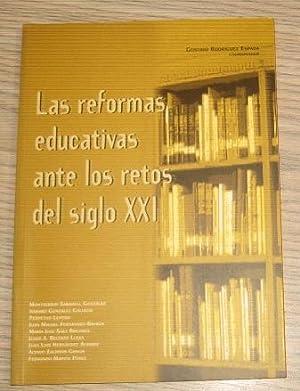 LAS REFORMAS EDUCATIVAS ANTE LOS RETOS DEL: MONTSERRAT SABADELL GONZÁLEZ.
