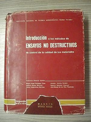 INTRODUCCIÓN A LOS MÉTODOS DE ENSAYOS DO DESTRUCTIVOS DE CONTROL DE LA CALIDAD DE LOS...