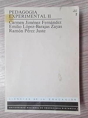 PEDAGOGIA EXPERIMENTAL II: CARMEN JIMÉNEZ FERNÁNDEZ,