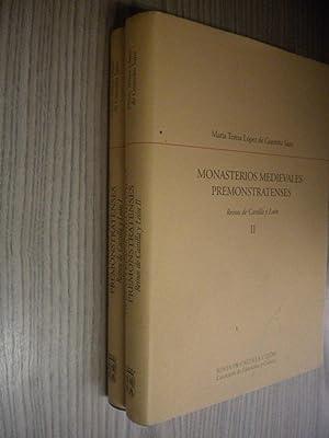 MONASTERIOS MEDIEVALES PREMOSTRATENSES 2 VOLUMENES: MARÍA TERESA LOPEZ DE GUEREÑO SANZ