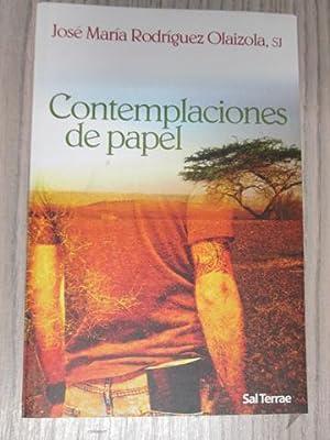 CONTEMPLACIONES DE PAPEL: JOSÉ MARÍA RODRÍGUEZ