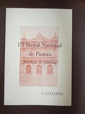 "III BIENAL NACIONAL DE PINTURA. ""PROVINCIA DE: DIPUTACION PROVINCIAL DE"