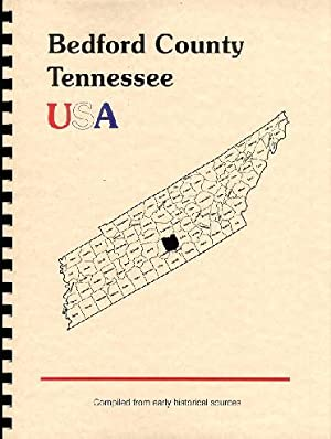 History of Bedford County Tennessee; History of