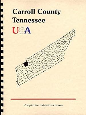 History of Carroll County Tennessee; History of