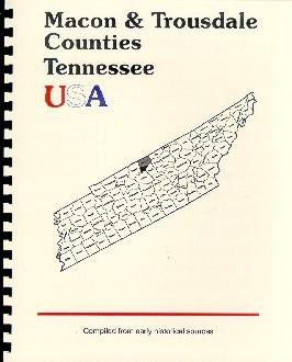 History of Macon County Tennessee; History of
