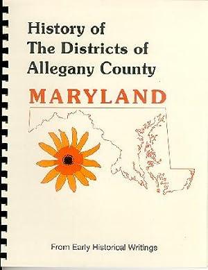 History of Western Maryland; History of the: J. Thomas Scharf