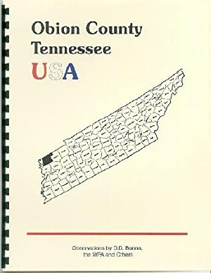 History of Tennessee ; History of Obion: Goodspeed