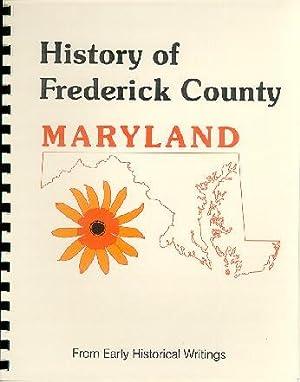 History of Western Maryland; Frederick County History: J. Thomas Scharf
