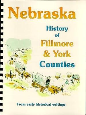History of Fillmore & York County Nebraska