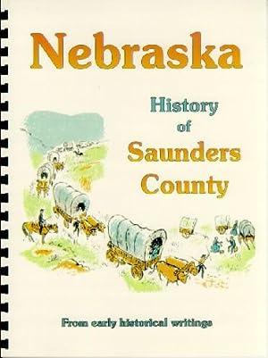 History of Saunders County Nebraska / History