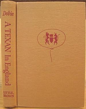 A Texan In England: Dobie, J. Frank