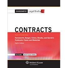 Casenote Legal Breifs: Contracts, Keyed to Farnsworth,: Briefs, Casenote Legal