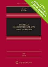 American Constitutional Law: Powers and Liberties [Connected Casebook] (Looseleaf) (Aspen Casebook ...
