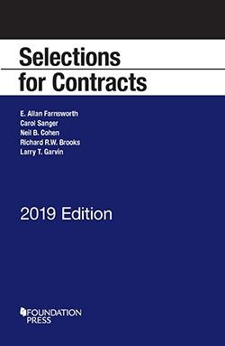 Selections for Contracts: 2016 Edition (Selected Statutes): Farnsworth, E.; Sanger,