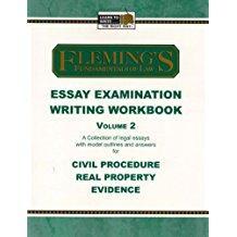 Essay Exam Writing Workbook Volume 2 (Civil: Fleming, Jeff A.