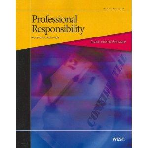Black Letter Outline on Professional Responsibility (Black: Rotunda, Ronald